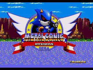 Metal Sonic Hyperdrive 2013 Thanksgiving Release